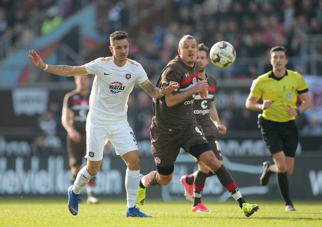 Alex Meier spielt seit Januar beim FC St. Pauli