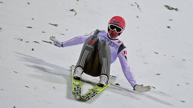 Severin Freund sprang im letzten Versuch auf 143 Meter