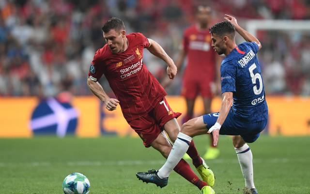 UEFA Super Cup: Trikotpanne bei Chelsea-Profi Jorginho