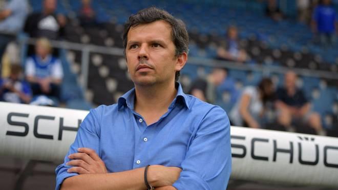 Samir Arabi ist seit 2016 Geschäftsführer Sport bei Arminia Bielefeld