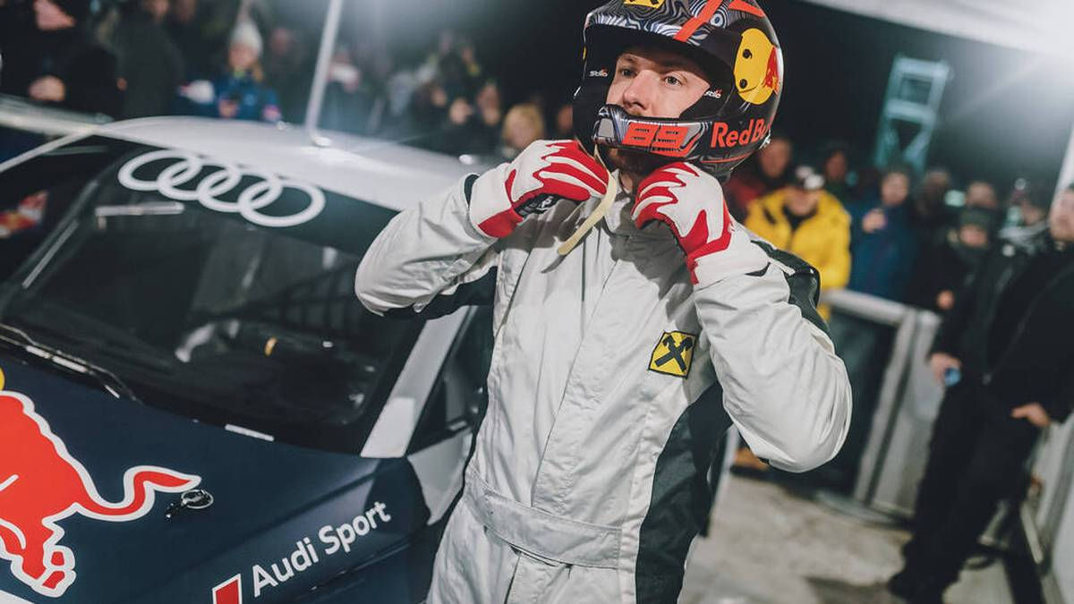 Marcel Hirscher fröhnt nach seiner Ski-Karriere dem Motorsport