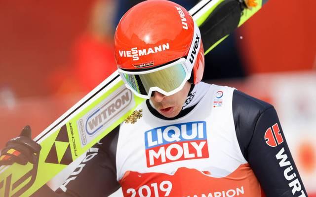 Kombinierer Eric Frenzel verpasst erneut eine WM-Medaille