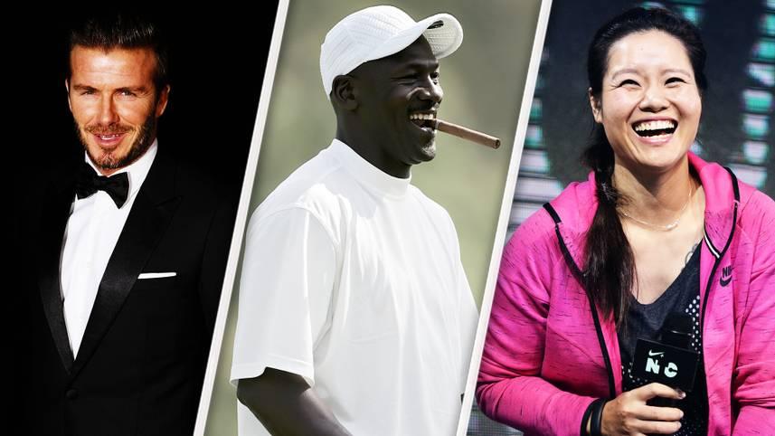 """Von wegen niedrige Rente. Einige Sport-Stars verdienen auch nach Ende ihrer aktiven Karriere Millionen. Einer von ihnen schafft es sogar zum Milliardär. SPORT1 zeigt die aktuelle Forbes-Liste der reichsten """"Sport-Rentner"""""""
