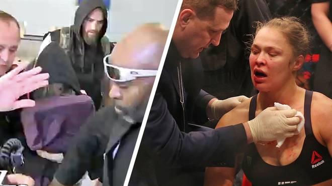 Ronda Rousey darf nach ihrem blutigen K.o. knapp ein halbes Jahr nicht ins Octagon