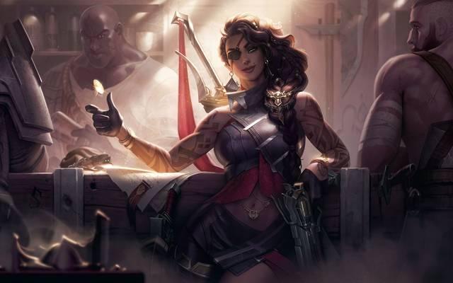 Mit Samira betritt die nächste Kämpferin das Rift in League of Legends