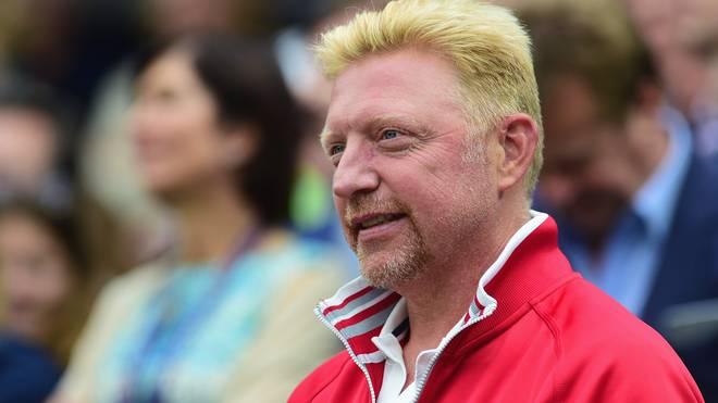 Boris Becker ist Trainer von Roger Federers Kontrahent Novak Djokovic