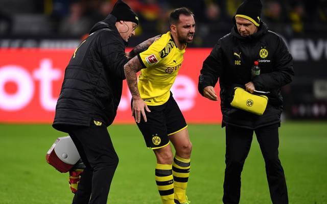 Bvb Alcacer Bei Borussia Dortmund Verletzt Gegen Sc Paderborn