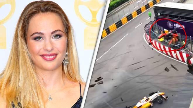 Sophia Flörsch verunglückte beim Formel-3-Weltfinale in Macau schwer