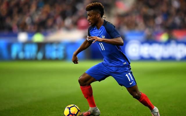 Kingsley Coman steht nach eineinhalb Jahren vor seinem Comeback für Frankreich