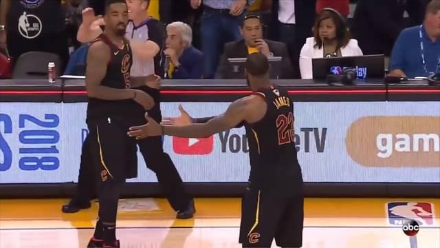 Der Mega-Aussetzer von J.R. Smith kostete Cleveland 2018 Spiel 1 der Finals, die Serie ging 0:4 verloren