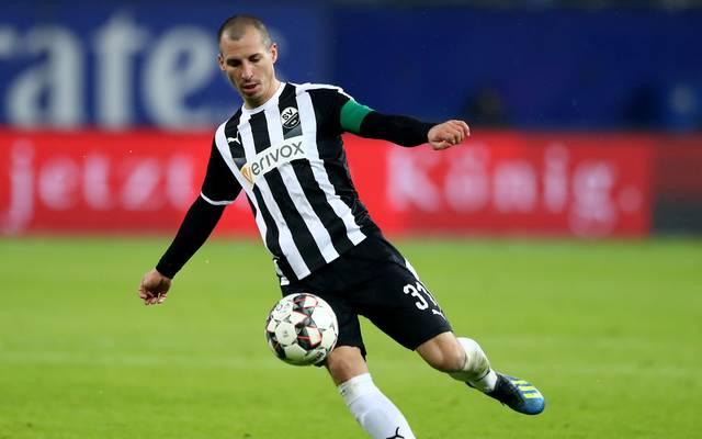 Stefan Kulovits steckt mit dem SV Sandhausen weiter im Abstiegskampf