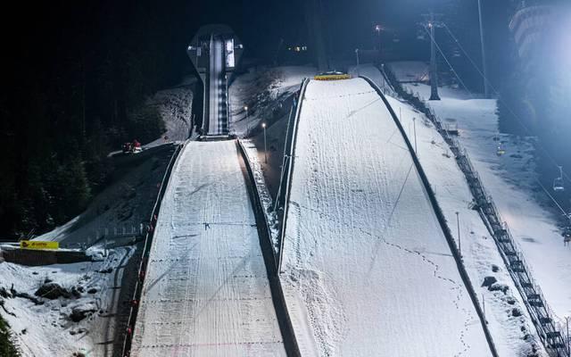 Im Frauen-Skispringen gab es positive Coronafälle