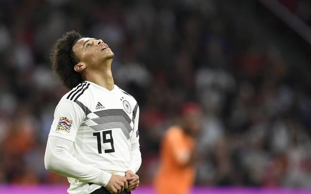 Leroy Sane wurde von Joachim Löw nicht für die WM 2018 nominiert
