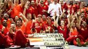 Ferrari jubelte in Singapur über den ersten Doppelsieg nach mehr als zwei Jahren