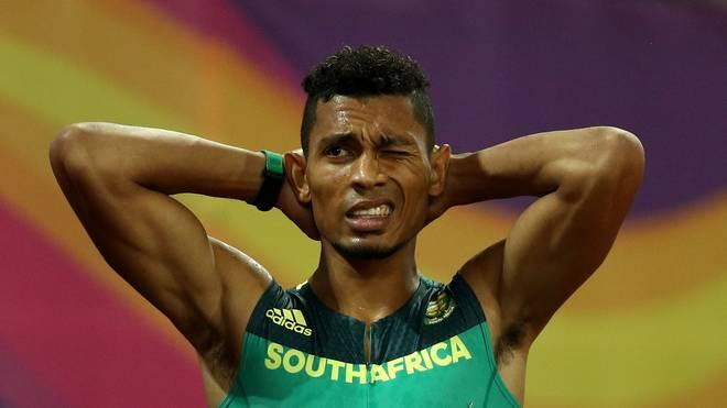 Wayde van Niekerk ist Weltrekordhalter über 400 Meter