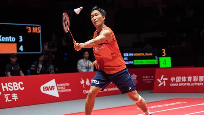 Der Japaner Kento Momota ist in seiner Heimat ein Superstar