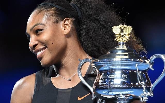 Serena Williams holte mehr Grand-Slam-Trophäen als Steffi Graf