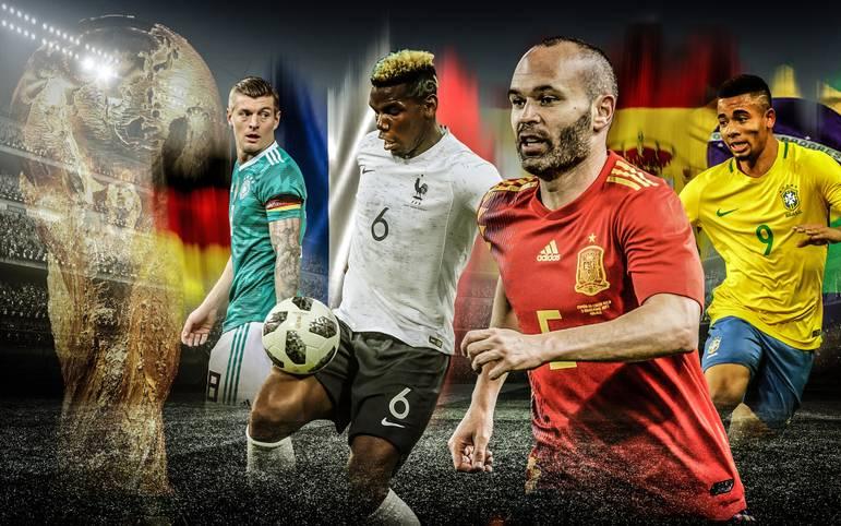 Weltmeister Deutschland zeigte bei den Testspielen gegen Spanien und Brasilien noch keine titelreife Leistung. Doch wo steht das Team von Joachim Löw zweieinhalb Monate vor WM-Beginn im Vergleich zu den anderen Topteams? Das SPORT1-Powerranking