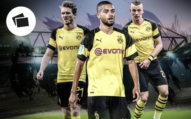André Schürrle, Jeremy Toljan und Marius Wolf spielten einst für den BVB