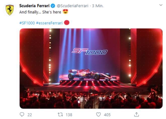 SF1000, Ferrari