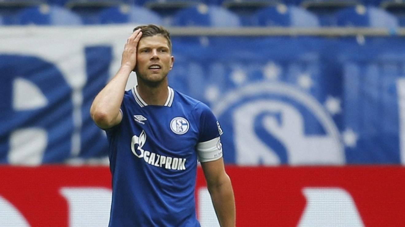 Klaas-Jan Huntelaar könnte das letzte Spiel der Saison verpassen