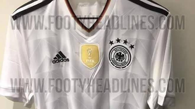 So soll das neue Trikot des DFB-Teams aussehen