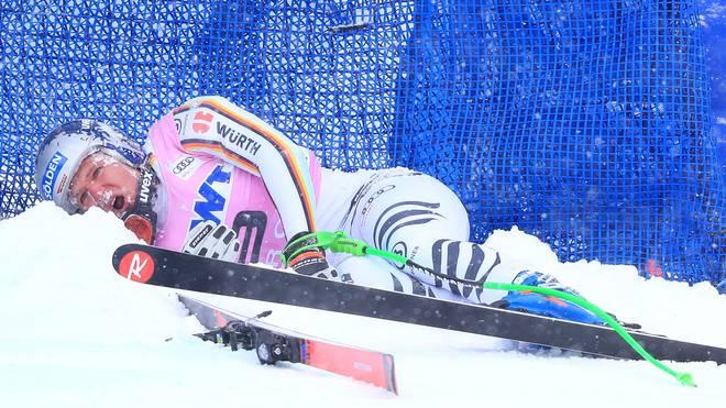 Ski Alpin: Bei Thomas Dreßen nach Sturz doch nur vorderes