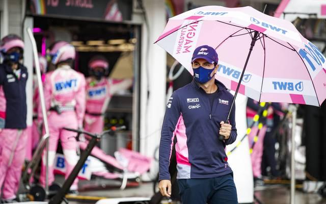 Sergio Pérez verpasste die beiden Formel-1-Rennen in Silverstone