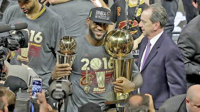 LeBron James war zum dritten Mal wertvollster Spieler der NBA-Finals