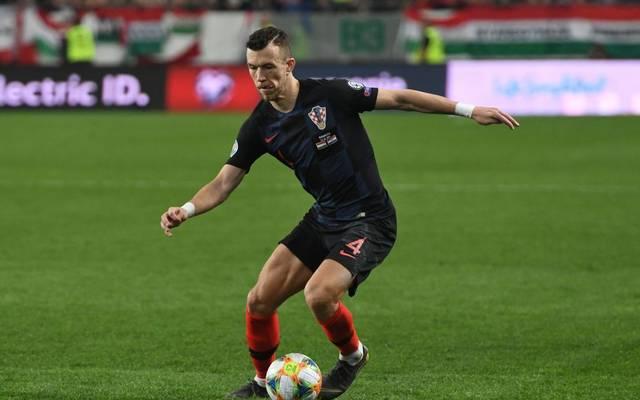 Bayern-Neuzugang Ivan Perisic ist in der EM-Qualifikation mit Kroatien im Einsatz