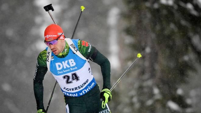 Bei der Biathlon-WM in Östersund gelingt Arnd Peiffer im 20km Einzel der Gold-Coup