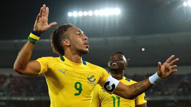 Pierre-Emerick Aubameyang ist Kapitän der gabunischen Nationalmannschaft