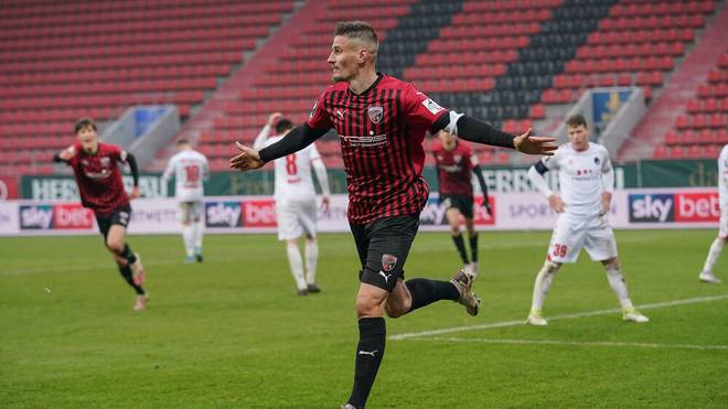 Merlin Röhl erzielte den Treffer für den FC Ingolstadt gegen Hansa Rostock