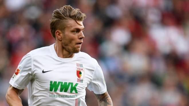 Alexander Esswein spielt seit 2014 für den FC Augsburg