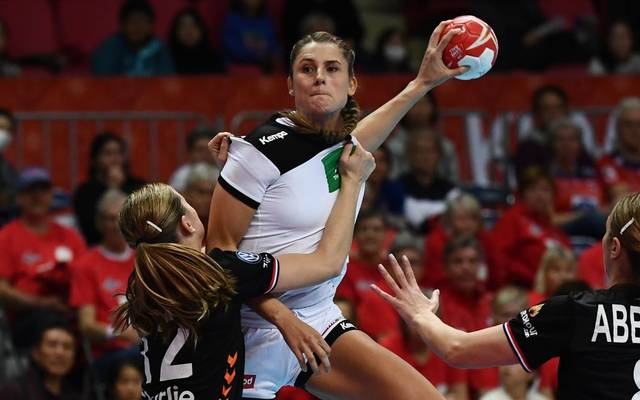 Die deutschen Handballerinnen durften sich über einen Sieg gegen die Niederlande freuen