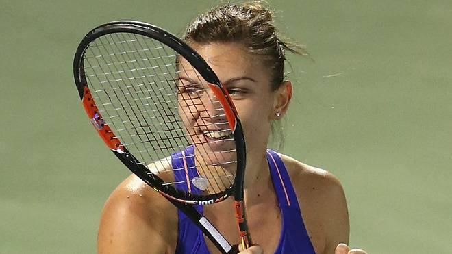 Simona Halep schlug im Finale Karolina Pliskova