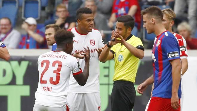 KFC Uerdingen 05 v Hallescher FC - 3. Liga