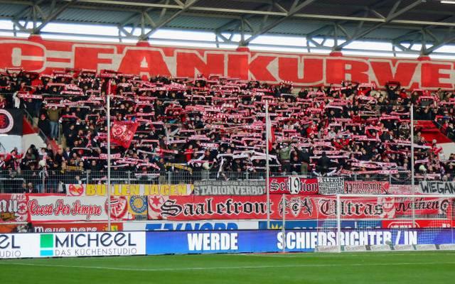 Fans des Halleschen FC planen eine Demonstration gegen die Geisterspiele