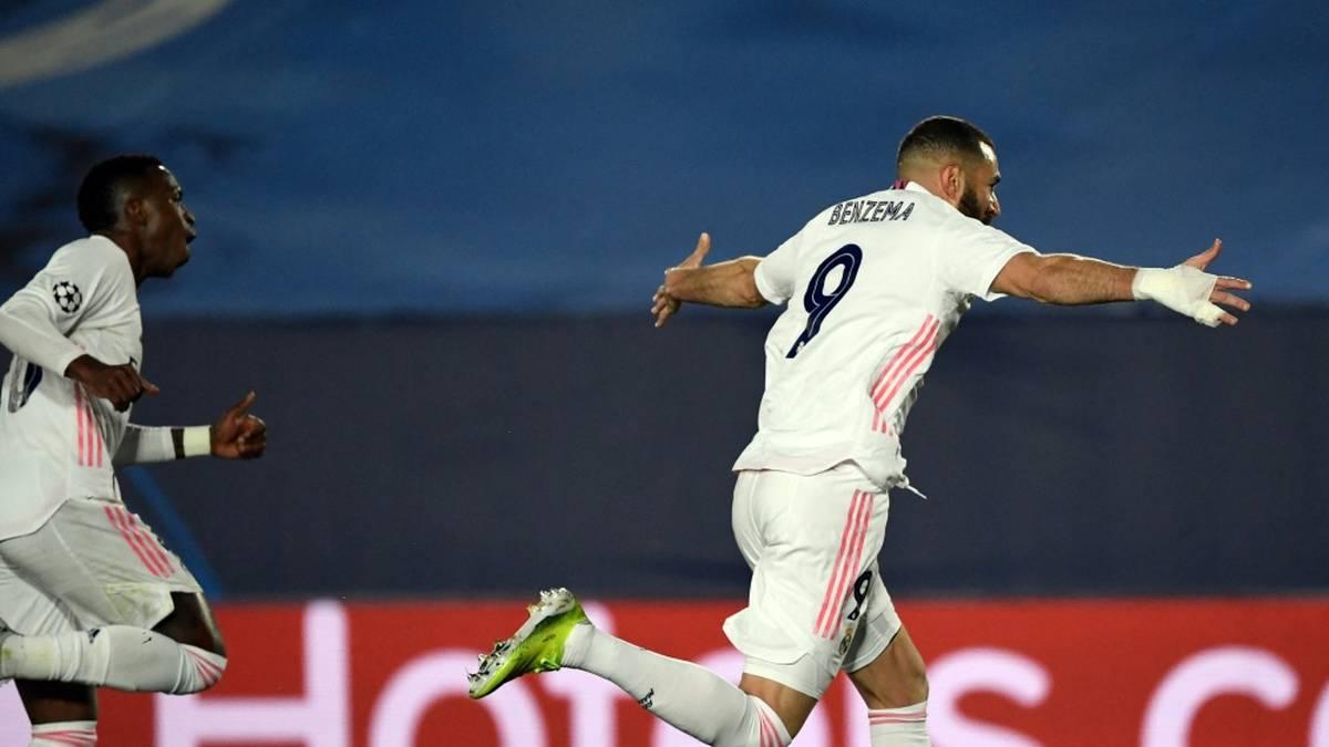 Benzema hält Real im Titelrennen