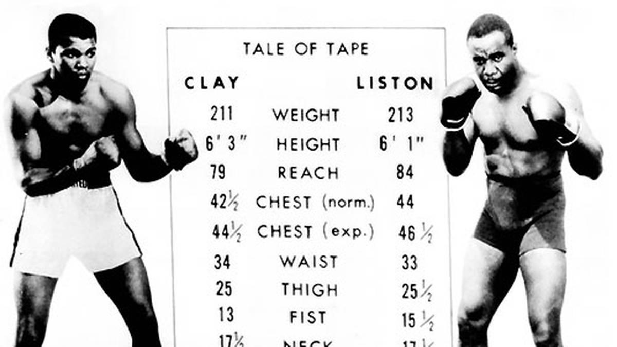 Mit dem Selbstvertrauen einer makellosen Bilanz von 19 Siegen in 19 Kämpfen geht Ali in seinen ersten richtig großen Fight gegen Schwergewichts-Champion Sonny Liston in Miami Beach, Florida