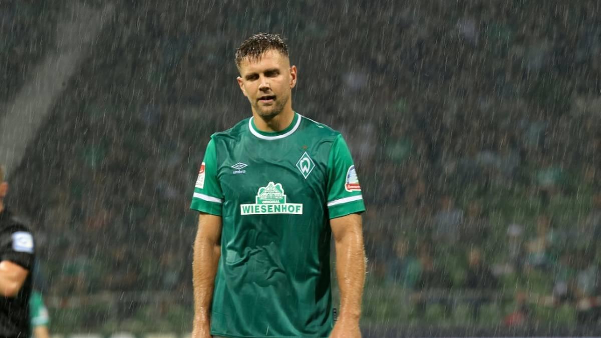 Nach Streit in der Kabine: Werder-Stürmer Füllkrug für drei Tage suspendiert