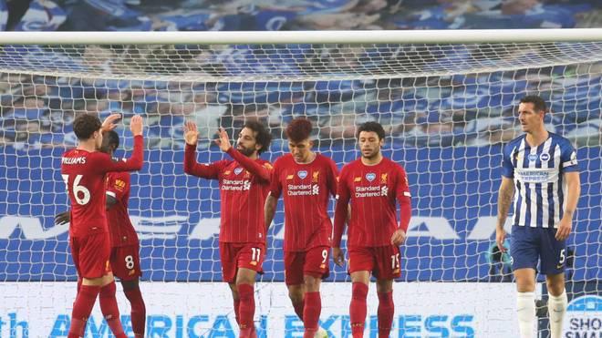 Mohamed Salah traf gegen Brighton doppelt