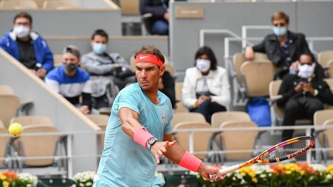 Rafael Nadal gibt sich in den ersten Runden der French Open keine Blöße