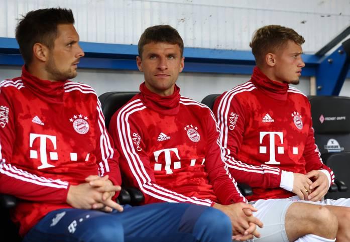 """Thomas Müller ist nach der """"Notnagel""""-Aussage seines Trainers Niko Kovac ins Grübeln gekommen. Der """"Raumdeuter"""" ist gerade erst 30 Jahre alt geworden. Zu jung, um sich mit einem Dasein als Bankdrücker abzufinden"""