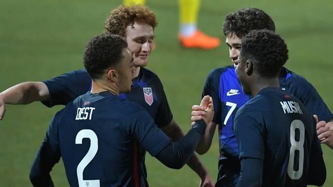 Die USA sind damit seit acht Spielen ohne Niederlage