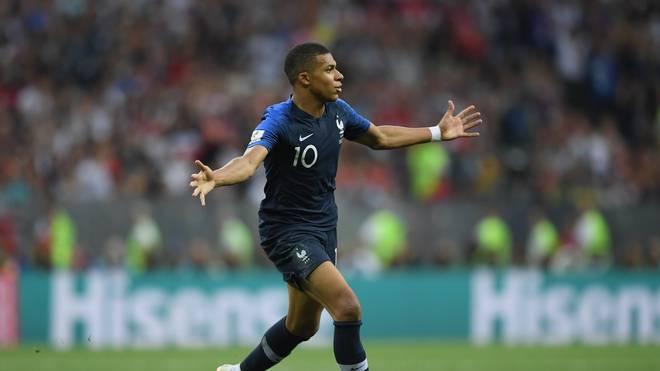 Kylian Mbappe verheimlichte Rücken-Verletzung im WM-Finale gegen Kroatien