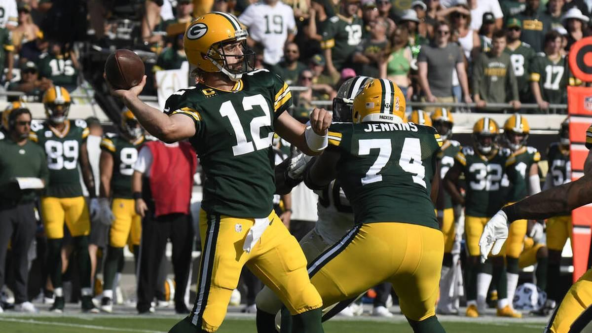 Rodgers bei Packers-Klatsche gebenched - Chiefs siegen spät