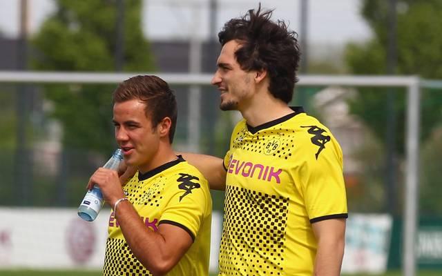 Mario Götze und Mats Hummels