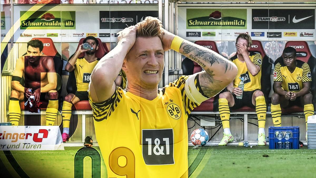 Am 2. Spieltag lässt Borussia Dortmund gegen Freiburg im Titelkampf Punkte liegen. Wie schnell reagiert der BVB und bessert seine Schwachstellen in den nächsten Spieltagen aus?