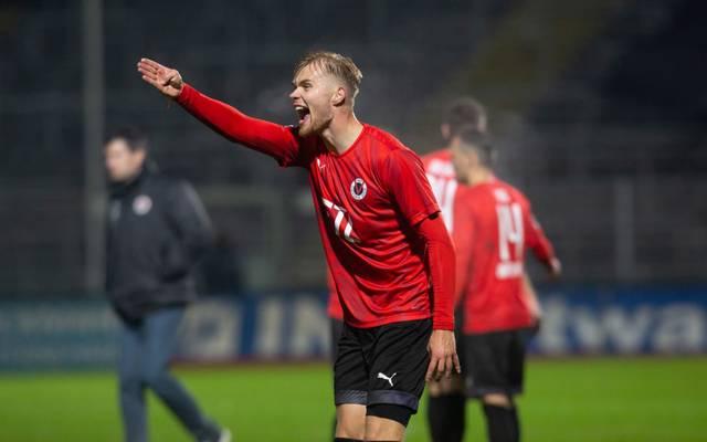 Lars Dietz feierte mit Viktoria Köln einen wichtigen Sieg